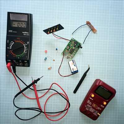 Exemple de réparation de circuit électronique n°3465 à Nantes par Olivier   Bourgeois