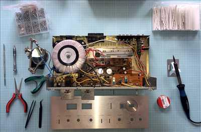 Photo de Réparation de matériel hifi n°3466 à Nantes par le réparateur Olivier   Bourgeois