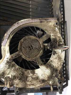 Exemple de réparation de console de jeux ancienne et récente n°3541 à Créteil par Gaillac