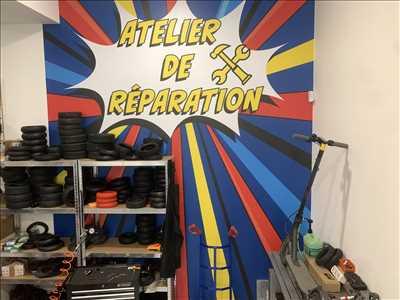 Photo de réparation de trottinette électrique n°3544 à Mulhouse par ELEQTRON (Trott Store)
