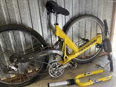 Exemple de réparation de bicyclette n°3573 à Limoges par Planète Outdoor