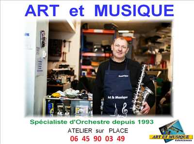 Photo de réparation d'instruments de musique n°3582 à Valenciennes par le réparateur dominique