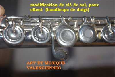 Photo de réparation d'instrument de musique n°3587 dans le département 59 par ART ET MUSIQUE