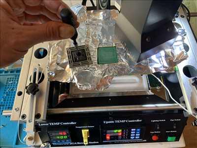 Exemple de réparation de circuit électronique n°3597 à Issoire par DOCTEUR IBIDULE