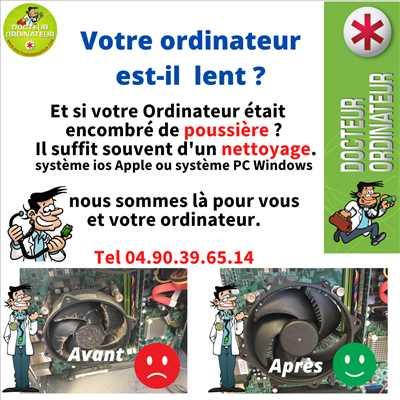 Photo de réparation et assistance informatique n°3616 à Avignon par Dr Ordinateur Avignon
