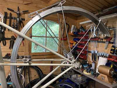 Photo de réparation de vélo n°3630 à Hendaye par le réparateur Matthieu