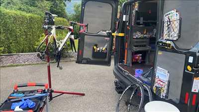 Exemple de réparation de bicyclette n°3693 à Albertville par Vélo for life