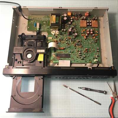 Exemple de Réparation de matériel hifi, matériel audio n°3697 à Nantes par Olivier   Bourgeois