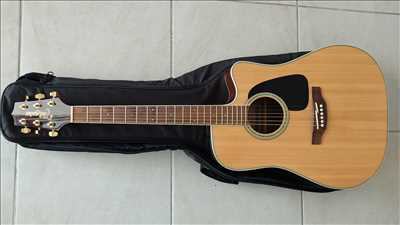 Photo de réparation d'instruments de musique n°3714 à Fort de France par le réparateur Esprit Guitare