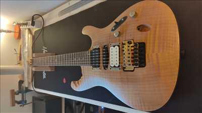 Photo de réparation d'instruments de musique n°3716 à Fort de France par Esprit Guitare