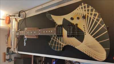 Photo de réparation d'instruments de musique n°3720 à Fort de France par Esprit Guitare