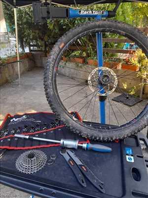 Exemple de réparation de bicyclette n°3741 à Perpignan par Forest Aventure - Le bike