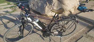 Exemple de réparation de bicyclette n°3753 à Lyon par CENTAUR BIKE