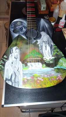 Exemple de réparation d'instrument de musique n°3761 à Mandelieu-la-Napoule par Guit'Art jB