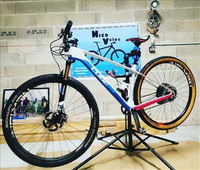 Photo de réparation de bicyclette n°3763 dans le département 21 par Nico Vélos
