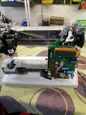 Photo de réparation de machine à coudre n°3798 à Béziers par le réparateur l 'atelier de Michel
