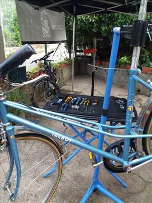 Photo de réparation de vélo n°3810 à Perpignan par le réparateur Forest Aventure - Le bike