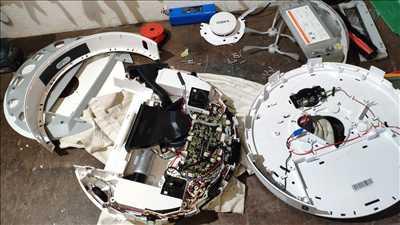 Exemple de réparation de circuit électronique n°3829 à Fleury-les-Aubrais par ReparElec45