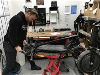 Photo de réparation de trottinette électrique n°3844 à Lyon par Sos intervention