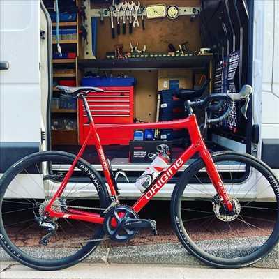 Exemple de réparation de bicyclette n°3993 à Vélizy-Villacoublay par BICYFIX