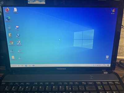 Exemple de réparation d'ordinateur n°405 à Lyon par VIS@FORM