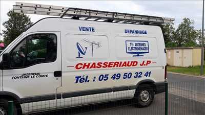 Photo de réparation de télévision n°426 à Poitiers par le réparateur chasseriaud jp