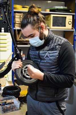 Photo de réparation de trottinette électrique n°432 à Nîmes par Airlab Industrie