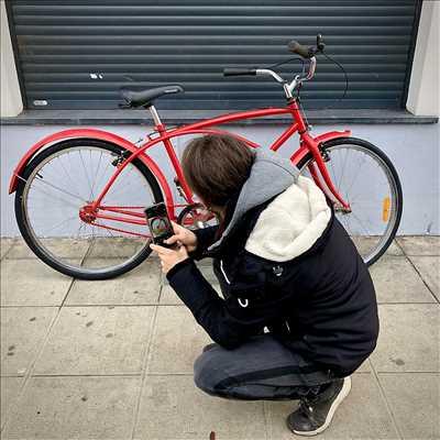 Exemple de réparation de bicyclette n°453 à Nice par Vintage Queen Bike Repair
