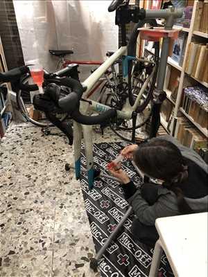 Photo de réparation de vélo n°454 à Nice par le réparateur Vintage Queen Bike Repair
