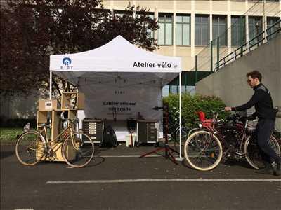 Exemple de réparation de bicyclette n°5 à Paris par Ridy