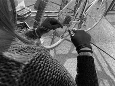 Exemple de réparation de bicyclette n°553 à Vienne par JENNIFER