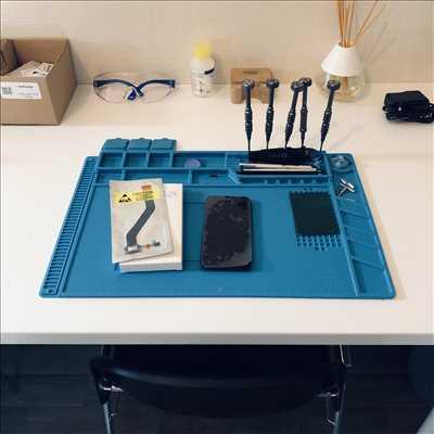 Exemple de réparation de smartphone n°57 à Rennes par Phoner