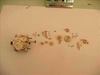 Exemple de réparation de montre n°573 à Perpignan par Fred horloger réparateur