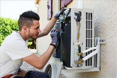 Photo de réparation de climatisation n°590 à Montpellier par le réparateur Anje Climatisation