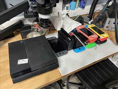 Photo de réparation de console de jeux n°606 à Bordeaux par le réparateur ConsoleX Bordeaux