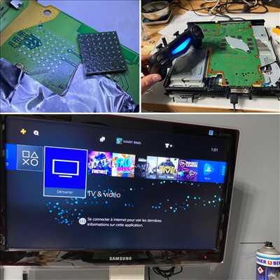 Photo de réparation de console de jeux n°608 à Bordeaux par ConsoleX Bordeaux