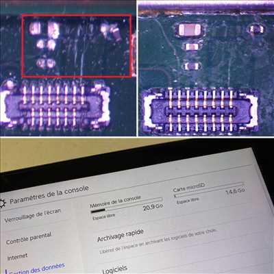 Photo de réparation de console de jeux n°610 à Bordeaux par le réparateur ConsoleX Bordeaux