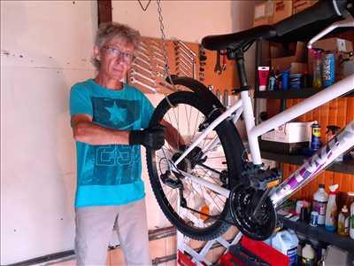 Photo de réparation de bicyclette n°615 dans le département 35 par Patrick