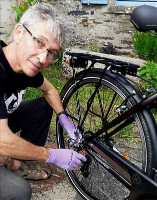 Photo de réparation de vélo n°618 à Rennes par le réparateur ROUL'VILAINE