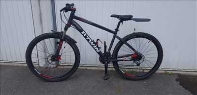 Exemple de réparation de bicyclette n°625 à Vitry-sur-Seine par cyclothomas94