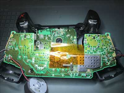 Photo de réparation de console de jeux n°662 à Castelnaudary par le réparateur VDK Informatique