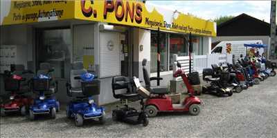 Exemple de réparation de trottinette électrique adulte et enfant n°757 à Grenoble par C PONS SARL
