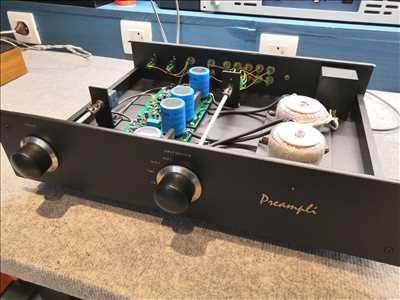 Exemple de Réparation de matériel hifi, matériel audio n°825 à Metz par Michael