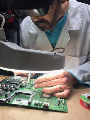 Photo de réparation de télévision n°874 à Biarritz par le réparateur B.A.B-TV