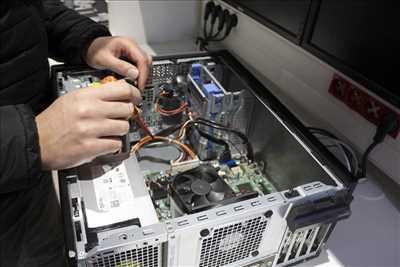 Photo de réparation d'ordinateur n°931 dans le département 49 par Loire Eco Distribution