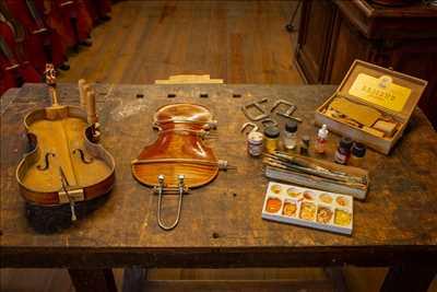 Exemple de réparation d'instrument de musique n°937 à Morlaix par Eric Lourme