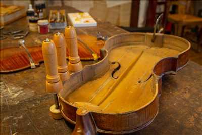 Photo de réparation d'instruments de musique n°938 à Morlaix par le réparateur Eric Lourme