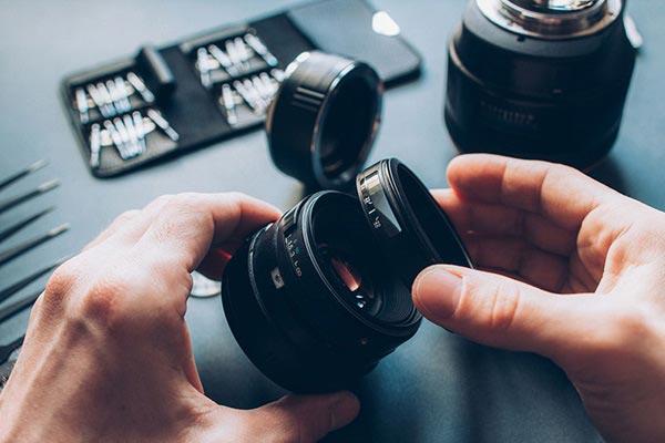 réparation d'appareil photo avec Geek33 à Bordeaux