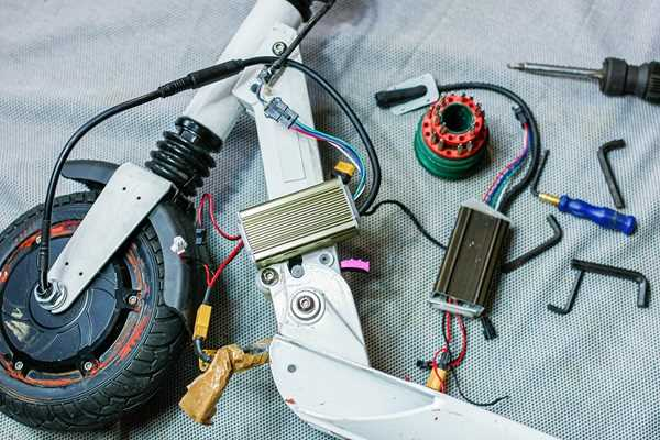 réparation de trottinette électrique avec Mace Robotics à Saint-Brieuc